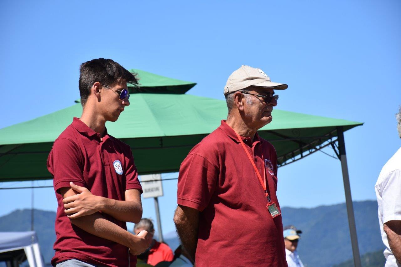 A Biandronno, il Jacky con Alessandro Tacchi, meccanico di turno.