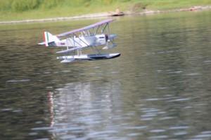 Il P6 in volo.